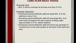 Comprehensive Care Plan Development